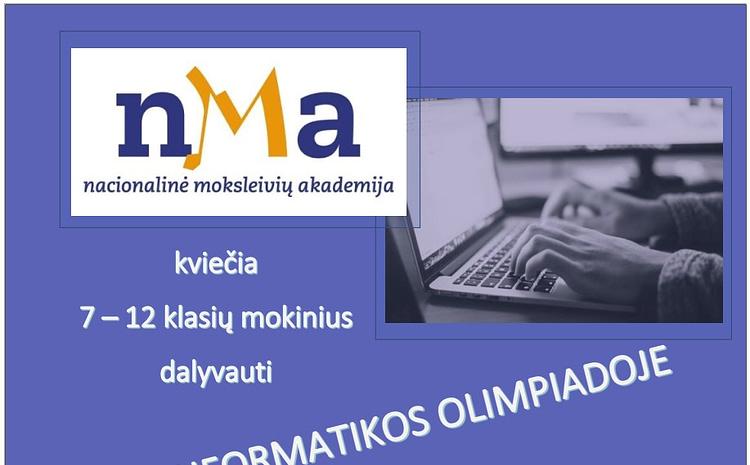 Prasideda registracija į III – iąją NMA informatikos olimpiadą